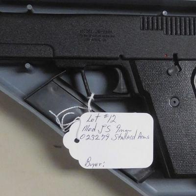 9mm Stallard Arms