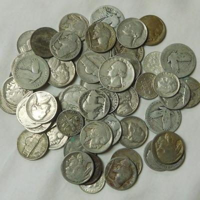 Quarters - Dimes and Nickels