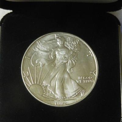 1992 American Silver Eagle - 1oz Fine Silver