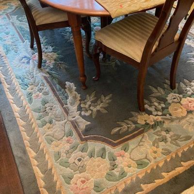 Sculpted rug
