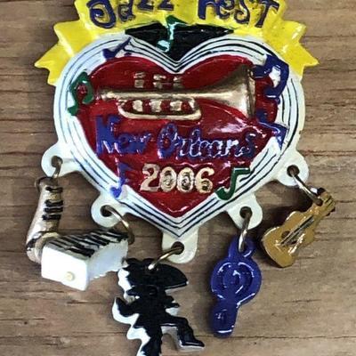 https://www.ebay.com/itm/124277126649WL7072: 2006 Michael Hunt New Orleans Jazz Festival JazzFest PinAuction