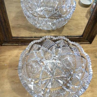 https://www.ebay.com/itm/114327368304WL7078: American Brilliant Cut Glass Fine Pattern 8