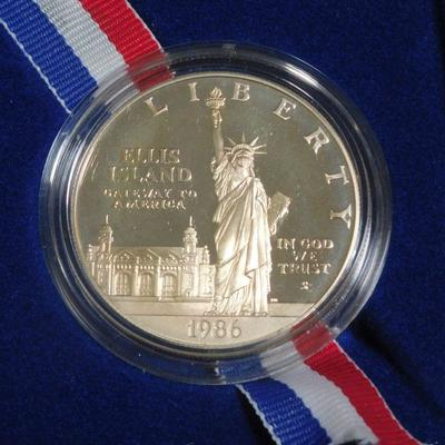 1986 Liberty Silver Proof