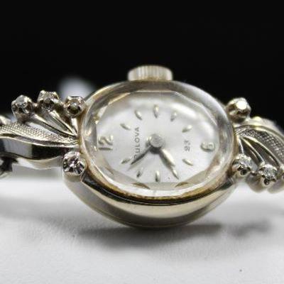 Ladies 14K Gold and Diamond Watch