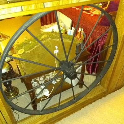 iron wheels $50.00 ea. there are 2