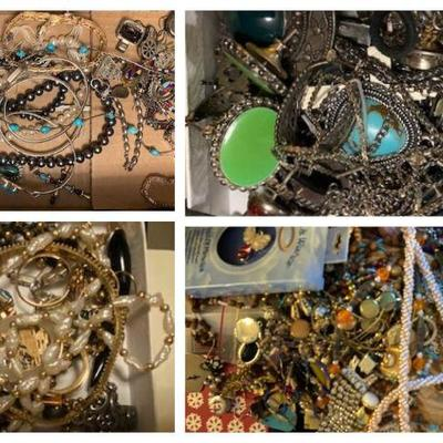 Gold, Silver & other costume jewelry