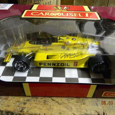 signed by Rick Mears