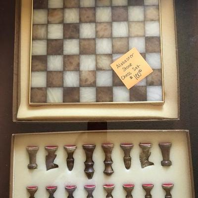 Beautiful one-of-a-kind chess set!
