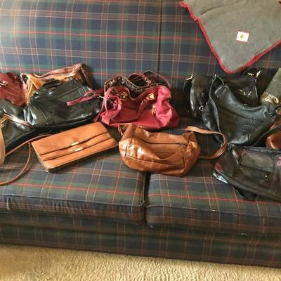 Leather purses, Liz Claiborne, Jessica Simpson, and much more!!