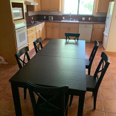 6 seat kitchen table $200