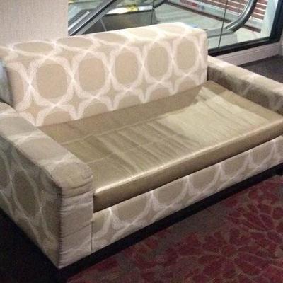 APB301 Two Cushioned Sofas