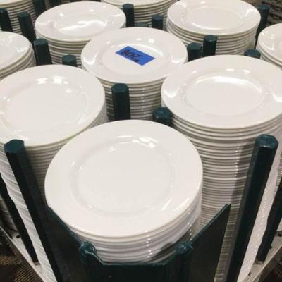 APB208 Arcoroc Professional Salad Plates & Dolly