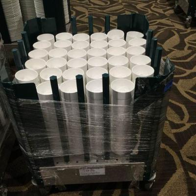 APB210 Dish Dolly & Professional Custard Cups