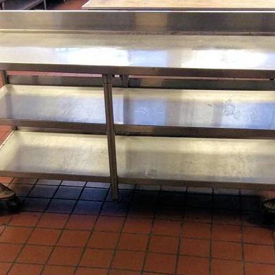 APB419 Metal Kitchen Prep Table