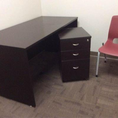 APB412 Three Piece Office Set
