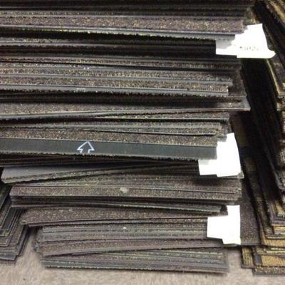 APB436 Hotel Grade Brown Carpet Tiles