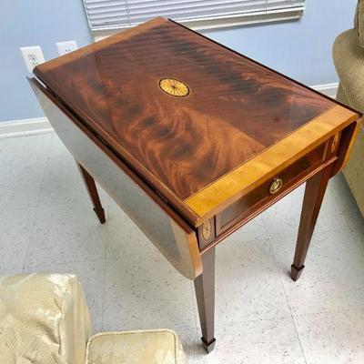 Herman Copley Drop leaf table mohogany wood.