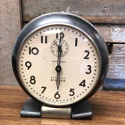 https://www.ebay.com/itm/124302662197LX2097: Vintage Westclox Big Ben manual alarm clock ASIS - Not TestedAuction Start after...