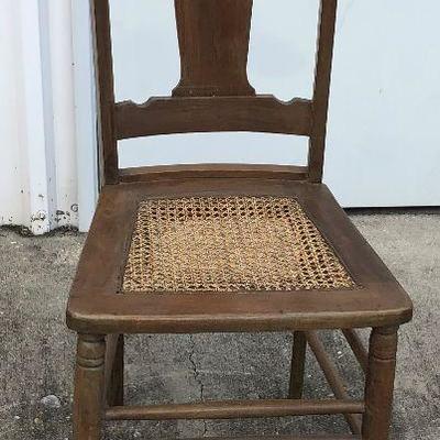 https://www.ebay.com/itm/114350237848LAN9713: Antique Pressed Cane Seat Chair Local PickupBIN$30