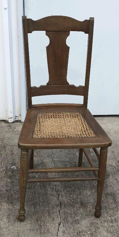 https://www.ebay.com/itm/114350237848	LAN9713: Antique Pressed Cane Seat Chair Local Pickup	BIN	$30