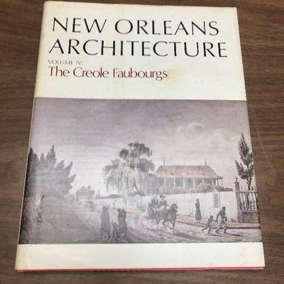 https://www.ebay.com/itm/114362045054LX2075: New Orleans Architecture Vol IV The Creole Faubourgs 1974 Book ASISAuction Start after...