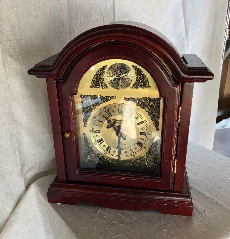 https://www.ebay.com/itm/124302169427WL2058 Mantel Clock Tempus Fygit  Local PickupBuy-It_Now $100.00