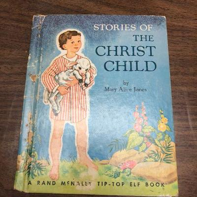 https://www.ebay.com/itm/124302464390LX2064 Stories of the Christ Child Book 1953 ASISAuction Start after 08/19/2020 6 PM