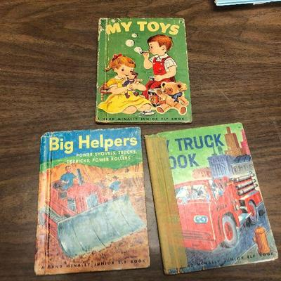 https://www.ebay.com/itm/124302496966LX2085: 3 Randy McNally Elf Books ASIS, My Toys, Big Helpers, My Truck BookAuction Start after...