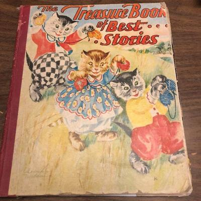 https://www.ebay.com/itm/114362039706LX2070: The Treasure Book of Best Stories by A Clinton 1939 Book ASISAuction Start after...