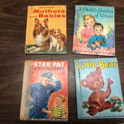 https://www.ebay.com/itm/114362059508LX2084: 4 Randy McNally Elf Books ASIS, Animal Mothers and Babies, A Child Garden of Verses, Peter...