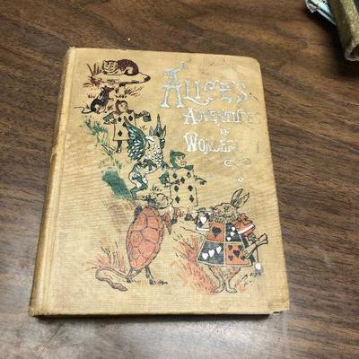 https://www.ebay.com/itm/124302458376LX2057 Alice's Adventures in Wonderland by Lewis Carroll Henry Altemus Book ASISAuction Start...