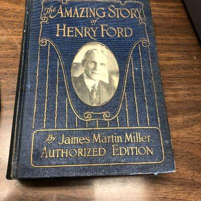 https://www.ebay.com/itm/114362000398LX2051 The Amazing Story of Henry Ford by James Martin Miller Book 1922 ASISAuction Start after...