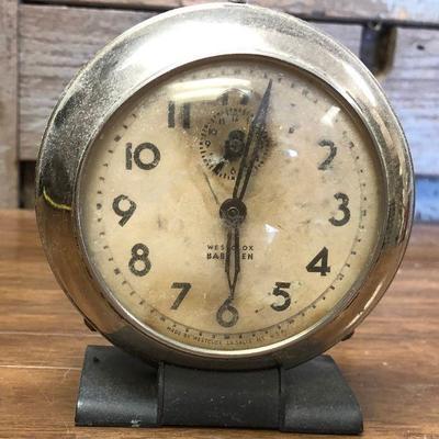 https://www.ebay.com/itm/124302672226LX2106: Vintage Westclox Baby Ben manual alarm clock ASIS - Not TestedAuction Start after...