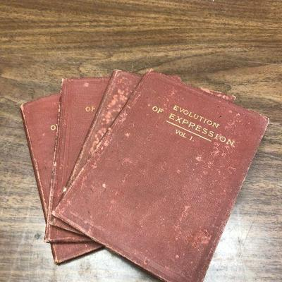 https://www.ebay.com/itm/114361999598LX2050 Evolution of Expression Book (4 Vols) Emerson 1892 Book ASISAuction Start after 08/19/2020...