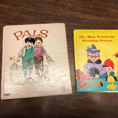 https://www.ebay.com/itm/124302506966LX2086: 2 Whitman Children's Books ASIS, Pals The Most Wonderful Birthday PresentAuction Start...