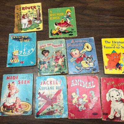 https://www.ebay.com/itm/124302487468LX2077: 10 Whitman Children's Books ASIS Rover, A Little Mother Goose, Telling Time, Junes for...