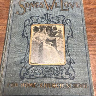 https://www.ebay.com/itm/114362031962LX2068: Songs We Love by D H Morrison 1902 Book ASISAuction Start after 08/19/2020 6 PM