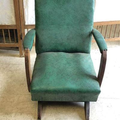 https://www.ebay.com/itm/124289390785LAN9704: Salesmen's Sample Child's Mid Century Modern Rocking Chair Local PickupBIN125