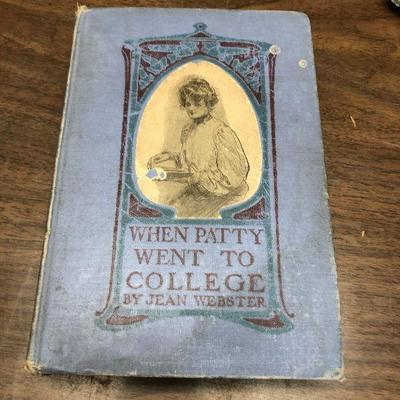 https://www.ebay.com/itm/114362019333LX2060 When Patty Went to College by Jean Webster Grosset 1903 Book ASISAuction Start after...