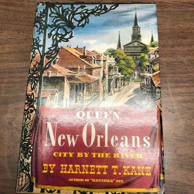 https://www.ebay.com/itm/114362042761LX2072: Queen New Orleans City by the River By Harnettt T. Kane 1949 Book ASISAuction Start after...