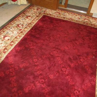 If you like red, this is the rug for you.