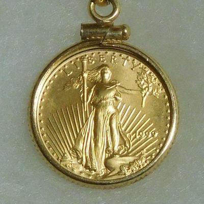 1999 $5 Gold Coin - 1/20 oz. Fine Gold