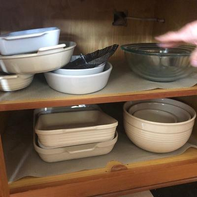 Emile Henry, Apelco and Le Cruiset casseroles