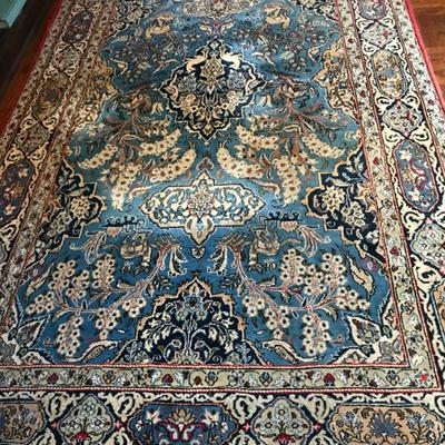 Rare beautiful persian rug antique