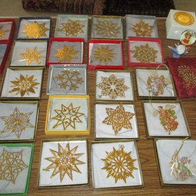 Star Christmas ornaments. Metropolitan Museum of Art