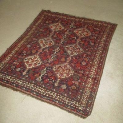 Persian rug, Iranian.