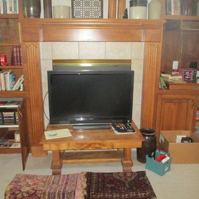 Tv & coffee table