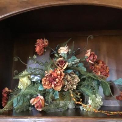 Faux flower arrangements - retail over $250