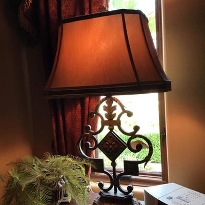 Matching lamps - client paid $625 each   Come see us for a great deal
