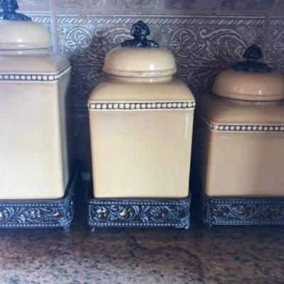 Canister sets - retail over $300'